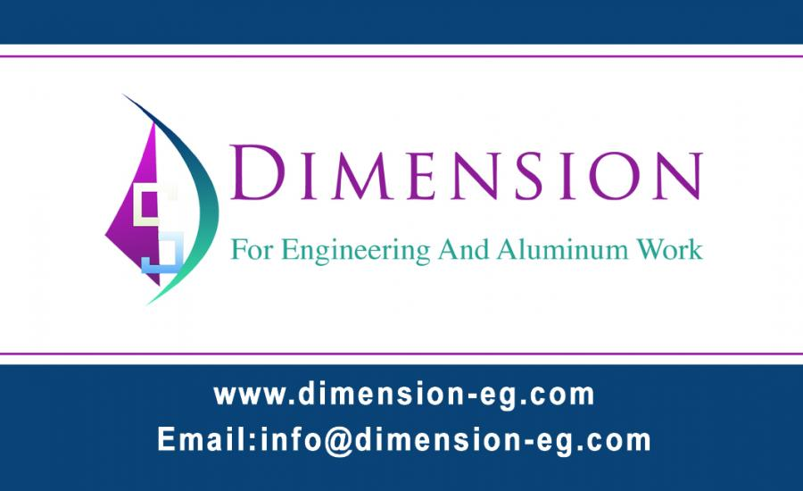 dimension for engineering and aluminum works