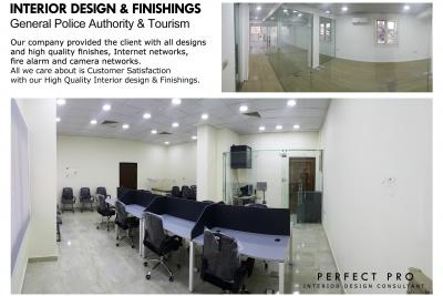 General Police Authority & Tourism INTERIOR DESIGN & FINISHINGS