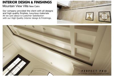 INTERIOR DESIGN & FINISHINGS Villa New Cairo.