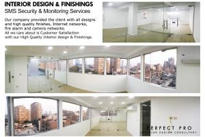 INTERIOR DESIGN & FINISHINGS SMS Security & Monitoring Services