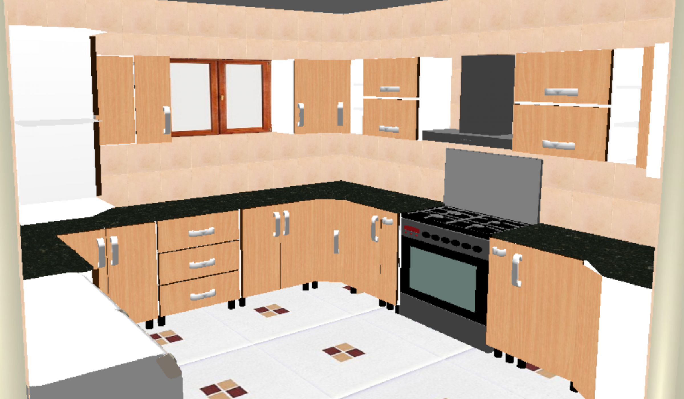 مطبخ hpl , kitchen design